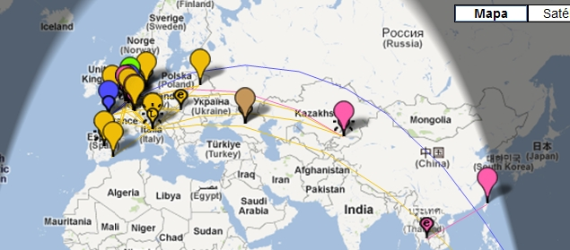 Figura 4-PSK-Reporter-Estaciones activas