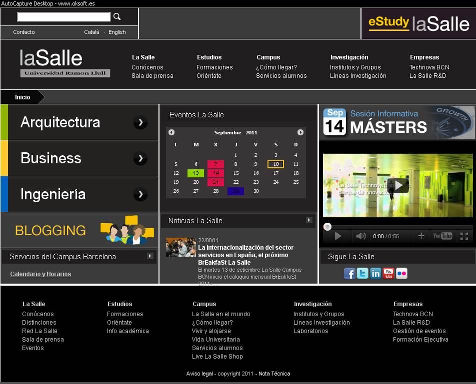 Web-Lasalle.url.edu