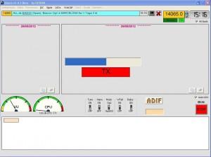 Figura 7 - TRansmisión de Opera en modo baliza automática